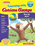 img - for Learning with Curious George Pre-K Math book / textbook / text book