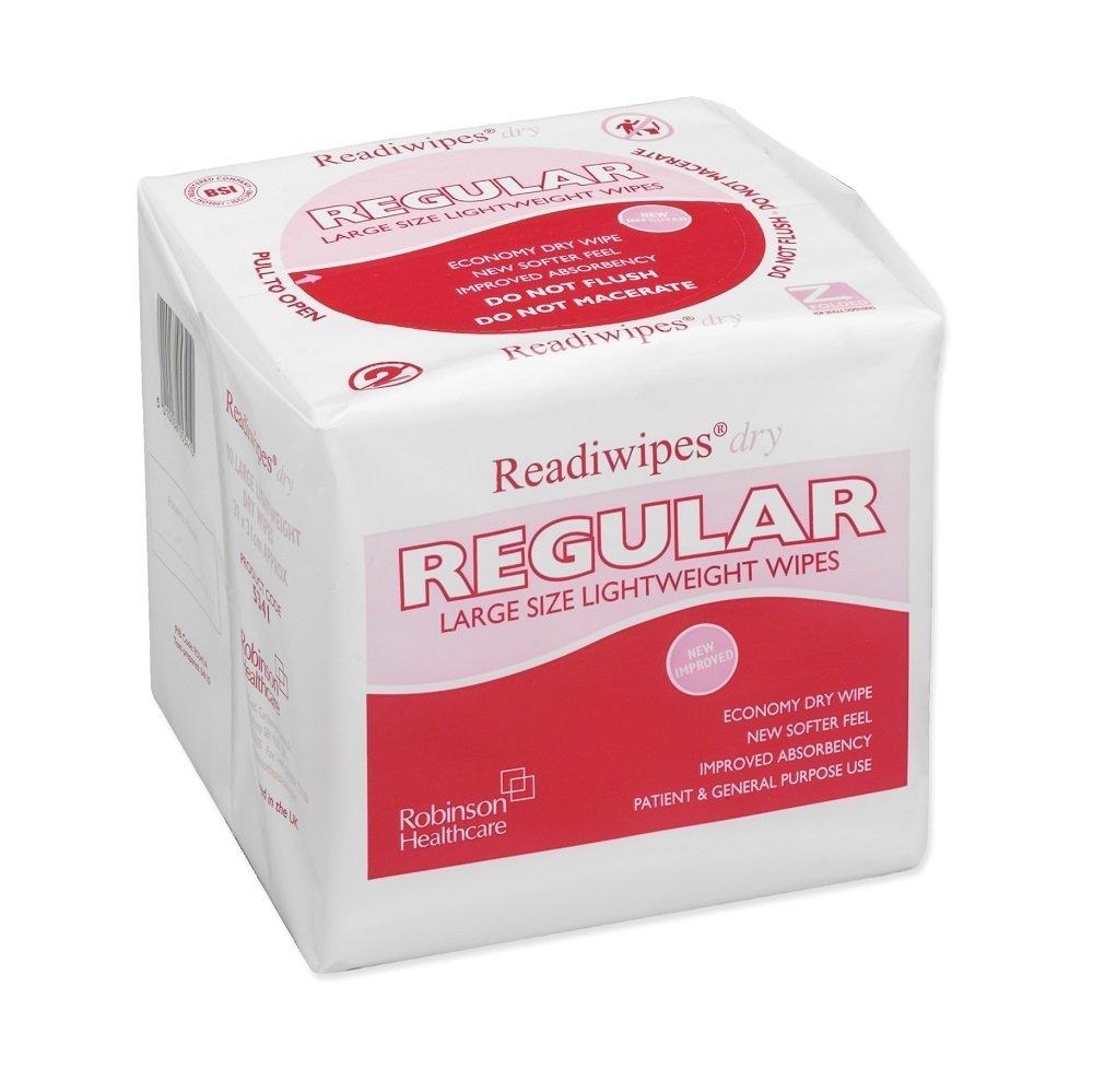 Readiwipes dry 100 large dry wipes by Robinson Healthcare: Amazon.es: Industria, empresas y ciencia