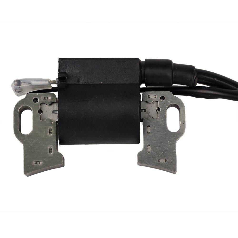 OuyFilters - Pack de Bobina de Encendido y bujía para Honda Gx240 Gx270 8hp 9hp Motor cortacésped