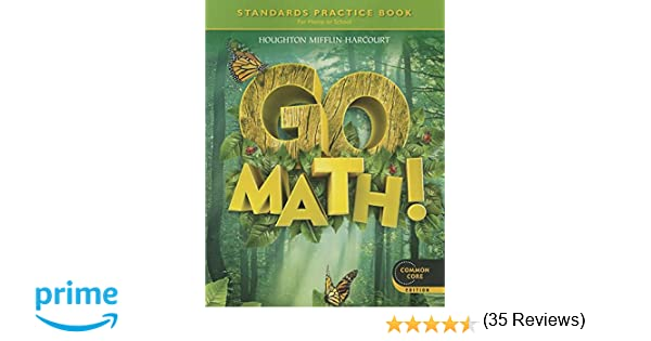 Go Math: Standards Practice Book, Grade 1: HOUGHTON MIFFLIN ...
