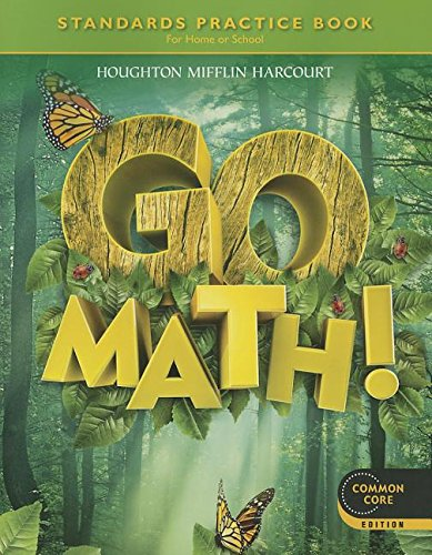 Go Math: Standards Practice Book, Grade 1
