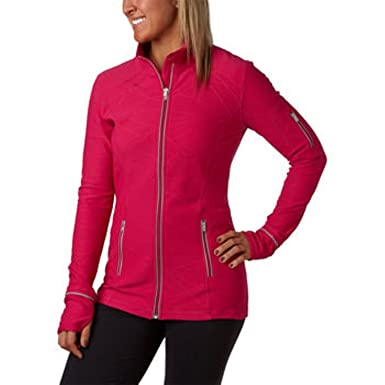 Kirkland Signature Ladies' Full Zip Active Yoga Jacket-pink ...