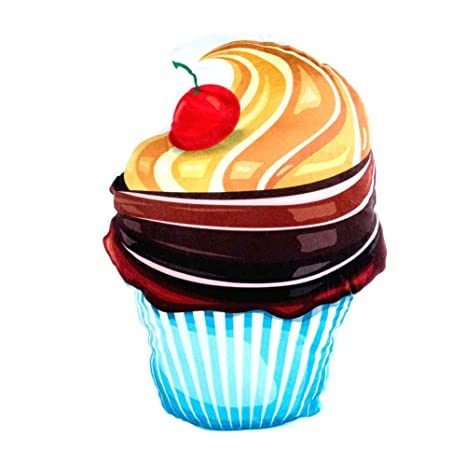 Cojín Ice Cream st3761 Cup Cake: Amazon.es: Hogar
