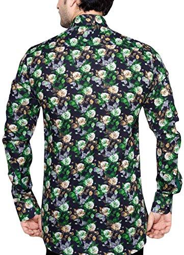 OLIVER GREEN Herren Slim Fit Freizeithemd M