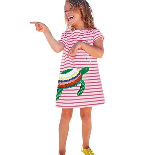 a1ac3cc46826 Amazon.com  Scaling ♥Floral Maxi Girls Dresses