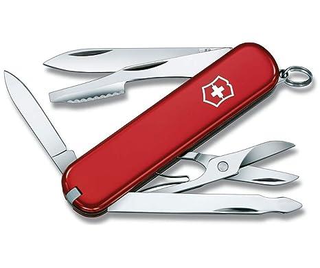 Victorinox V06603 Navaja Pequeña Taschenwerkzeug Executive, Rot, 0.6603, Rojo, S