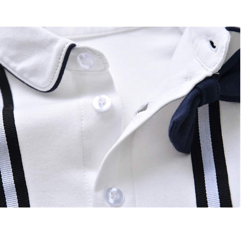 Mangka Baby Boys One Piece Romper Jumpsuit Long Sleeve Formal Gentleman Suit