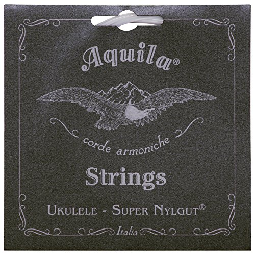 Aquila Super Nylgut AQ-100 Soprano Ukulele Strings - High G - 1 Set of 4