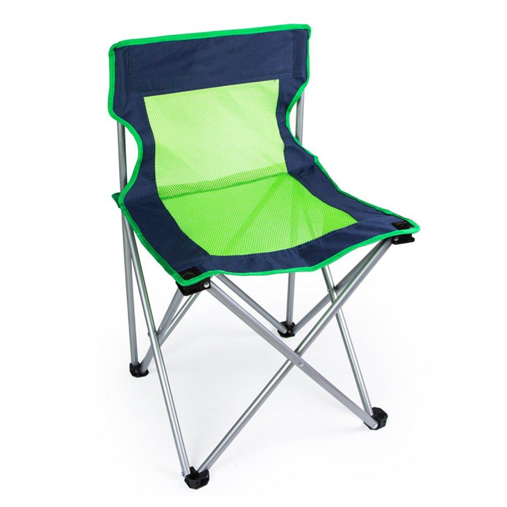 LDFN Portable Camping Chair Outdoor- Multifunktions-Stuhl Grill Strand Angeln Oxford Stoff und Stahlrohrhalterung Stuhl,A-454570cm