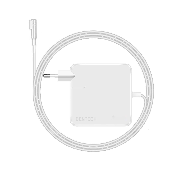 BENTECH Cargador Compatible con Macbook Air no Retina Equivalente Cargador Adaptador MagSafe 1 de 45W con Conector Tipo L