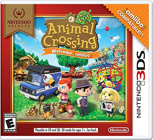 Nintendo Selects: Animal Crossing: New Leaf Welcome amiibo (No Card) - Nintendo 3DS (Best Animal Crossing Game For Ds)