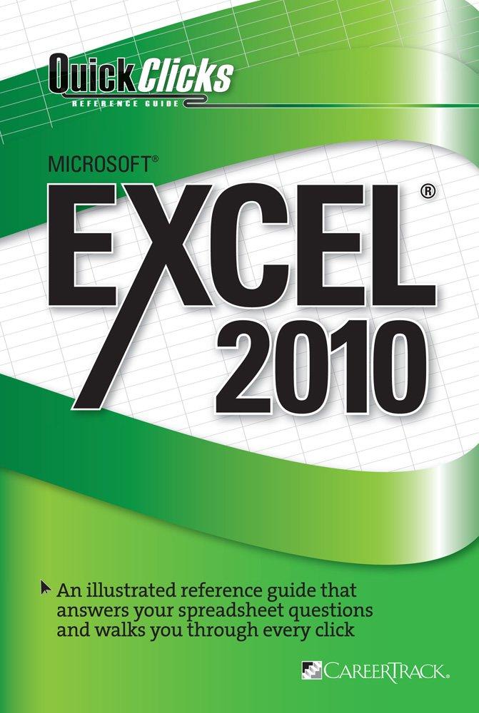 Read Online QuickClicks Excel 2010 ebook