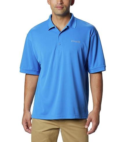 Columbia Sportswear Mens Perfect Cast Polo Shirt, Vivid Blue, 4X ...