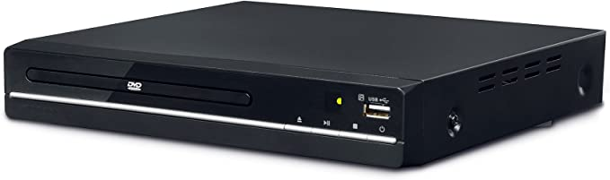 Denver Dvh 7784 Small Multi Region Dvd Player With 1080p Upscaling Hdmi And Usb Küche Haushalt