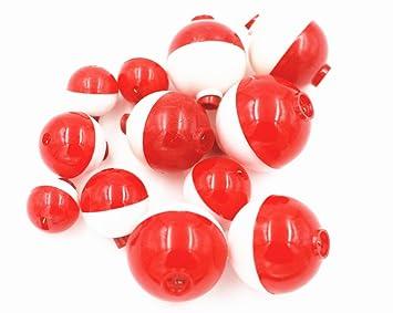 Ronda de pesca (flotadores Bobbers duro ABS Push Button Ronda de pesca boya flotador Bobber