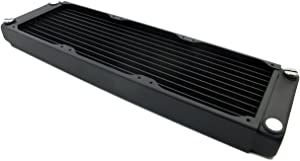 XSPC EX240 Crossflow Radiator V2, 120mm x 2, Dual Fan, Black