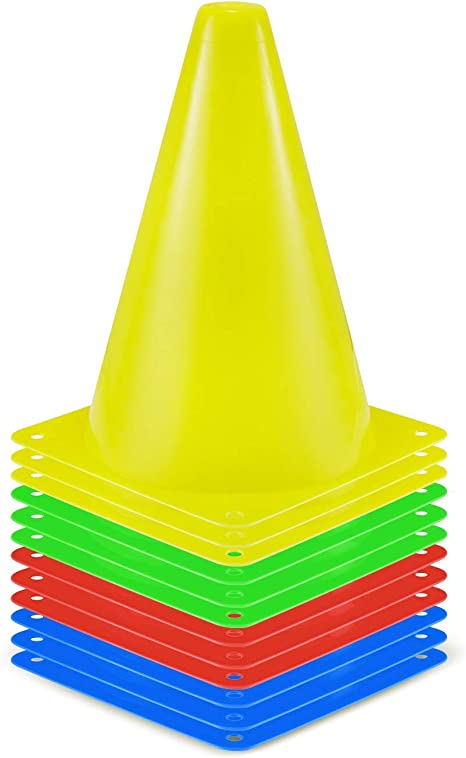 Kosma Set de 12 Conos de Trafico de Entrenamiento | Conos de ...