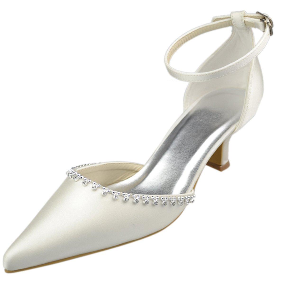 Minitoo , Bride de 12660 cheville cheville femme ivoire Beige - ivoire 61db06e - boatplans.space