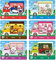 Nuevas tarjetas de juego NFC para Animal Crossing New Horizons para juego ACNH, Amiibo, RV, aldeano, muebles,