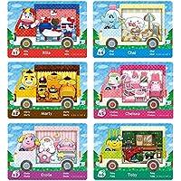 Nuevas tarjetas de juego NFC para Animal Crossing New Horizons para juego ACNH, Amiibo, RV, aldeano, muebles, Sanrio…