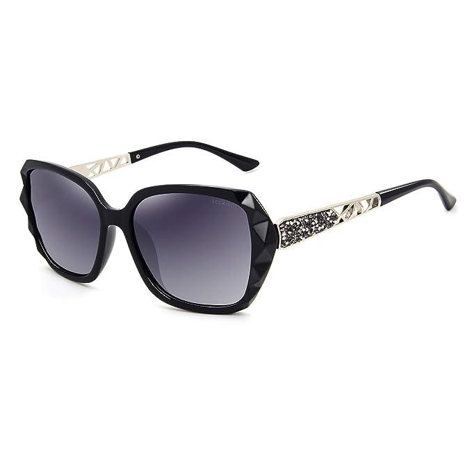Amazon.com: Leckirut - Gafas de sol polarizadas para mujer ...