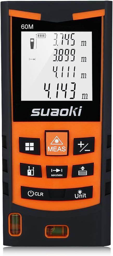 Suaoki S9 60M Misuratore Laser Metro