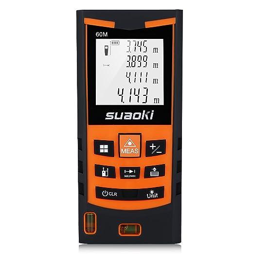 259 opinioni per Suaoki S9 60m Telemetro Distanziometro Laser Professionale Misuratore Distanza