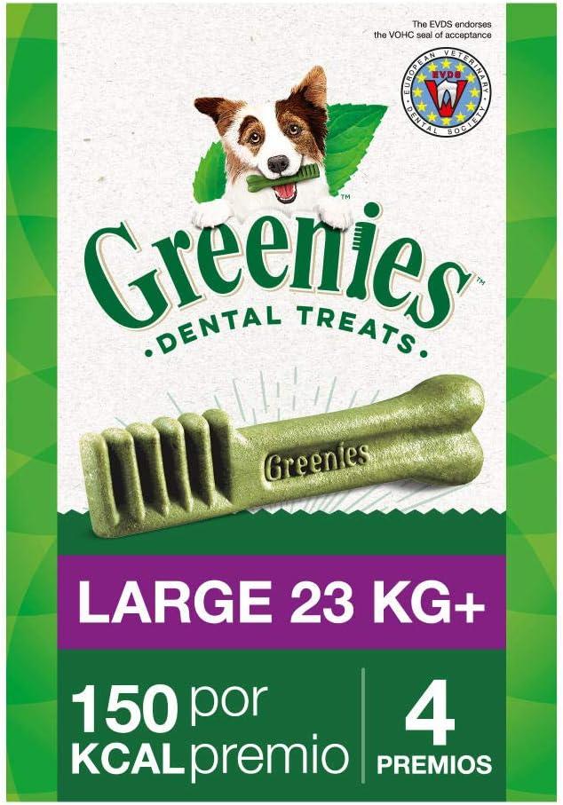 Greenies Snack Dental Large para Perros de más de 23kg (Pack de 6 x 170g)