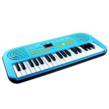 Piano para niños, Shayson 37 Teclado electrónico multi-función Piano Piano Piano con micrófono