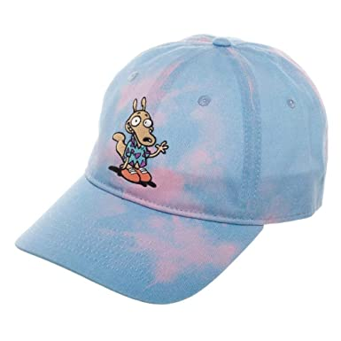 57a3bec71a8 Rocko s Modern Life Hat - Tie Dye Hat w Rocko s Modern Life Embroidery Gift  for