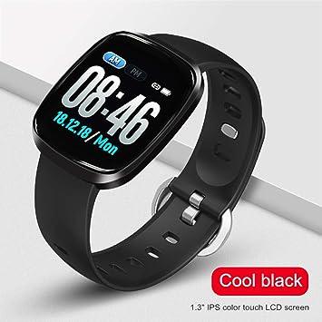 HHJEKLL Reloj Inteligente Smart Watch Hombres Presión Arterial ...