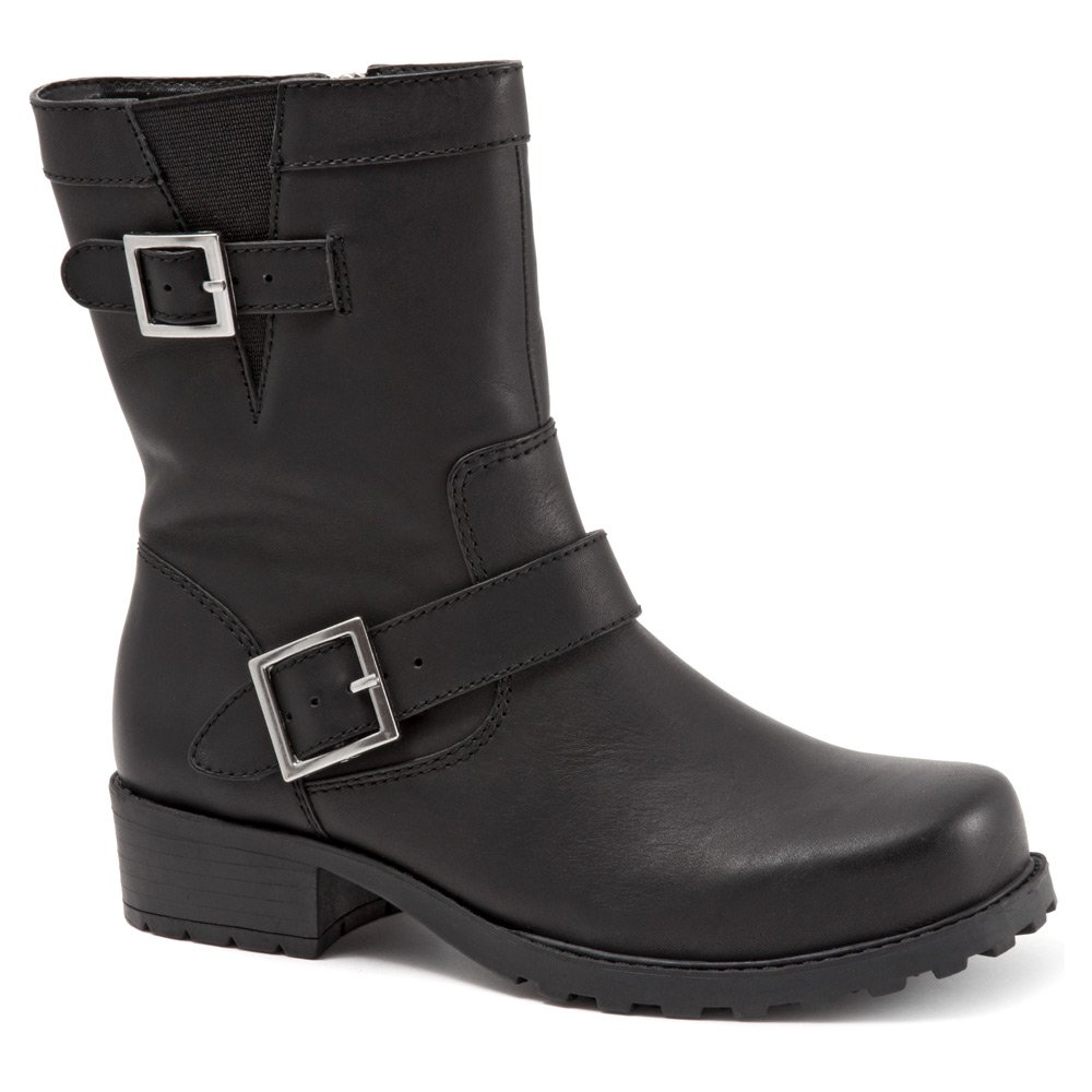 SoftWalk Women's Bellville Boot B0071BF8I0 7.5 N US|Black Smooth Leather