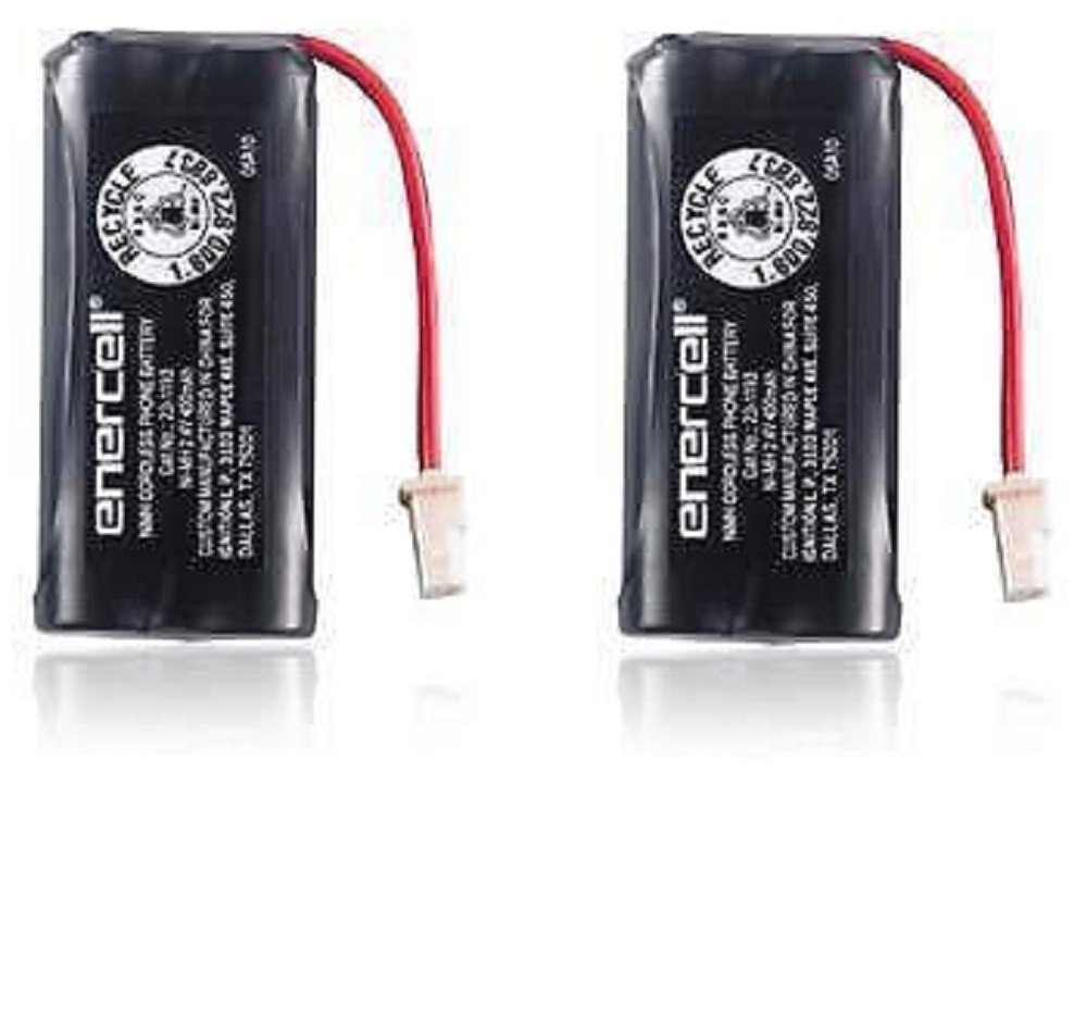 Enercell 2.4V/400mAh Ni-MH Cordless Phone Battery 2301666 2-pack