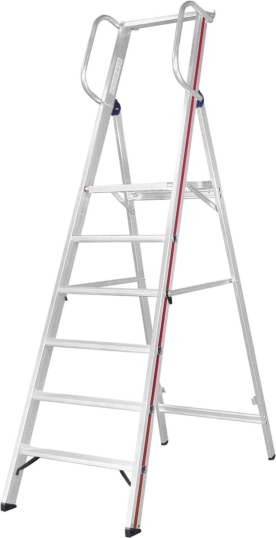 HYMER 808006 - Escalera de tijera: Amazon.es: Bricolaje y herramientas