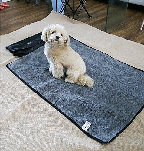 OMGO Grand tapis de bonne qualité couverture avec 2 polaires étanche doux et chaud coussin multiusage tapis universel avec sac de rangement pour chien chat pour maison voiture voyage randonnée etc. Taille