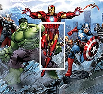 Lightswitchsticks Avengers Iron Man Marvel Autocollant Mural Pour
