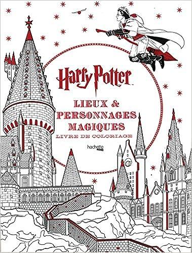 Livre Lieux et personnages magiques: Harry Potter