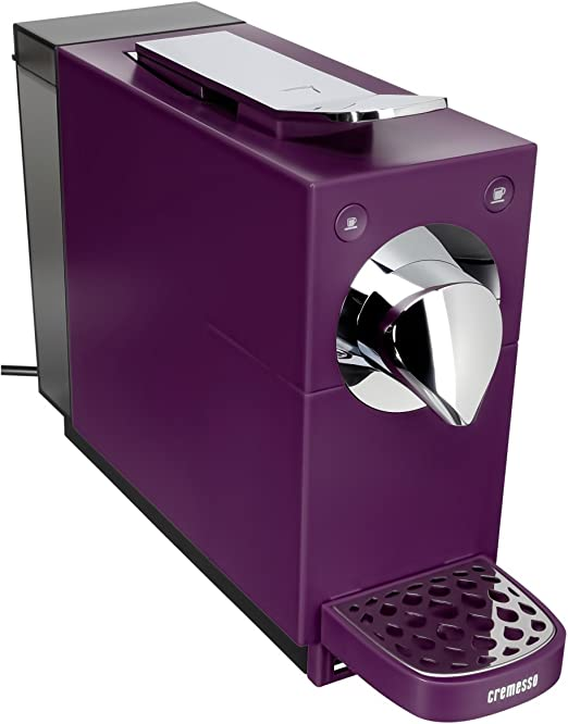 Cremesso Automatic - Cafetera de cápsulas, color morado: Amazon.es ...