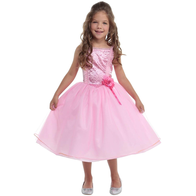 Estrella del pop rock n roll de los 80 vestido de niña: Amazon.es ...