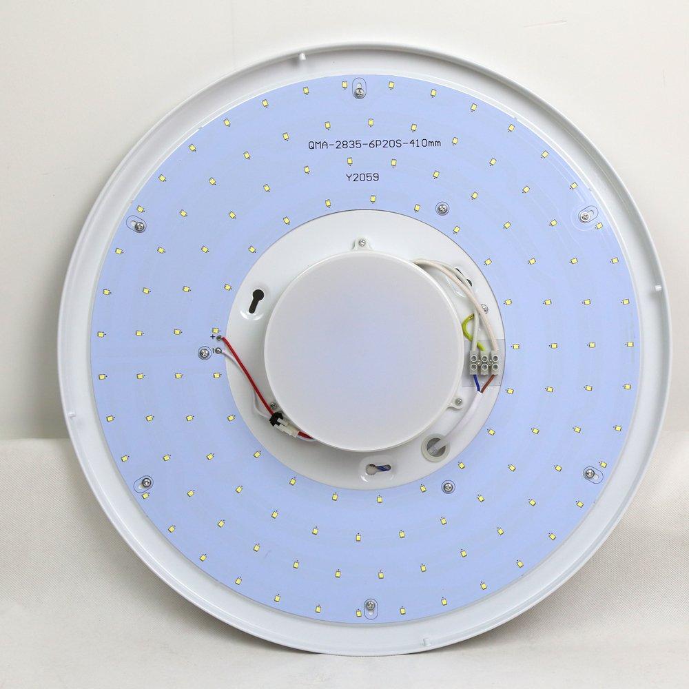 Natsen® LED Runden Deckenlampe X817 21W Deckenbeleuchtung Modern ...