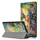 Fire HD10 Case,Kindle HD10,Kindle Fire HD10 Case,Tri-Fold PU Leather Smart Case Cover for Kindle Fire HD 10 inch Covers 2017 generation