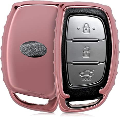 OBEST Custodia per chiavi e telecomando auto 3 pulsanti