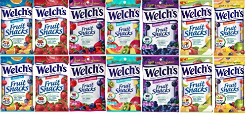 Welch's Fruit Snacks 5 oz, 7 Flavor Mixed (Pack of -