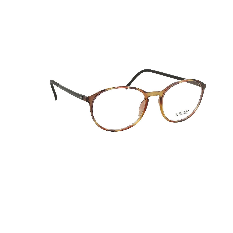 cc764aa24576 Amazon.com: Silhouette Eyeglasses SPX Illusion Fullrim 2889 6061 Tortoise  Blk 2889-6061-49mm: Clothing
