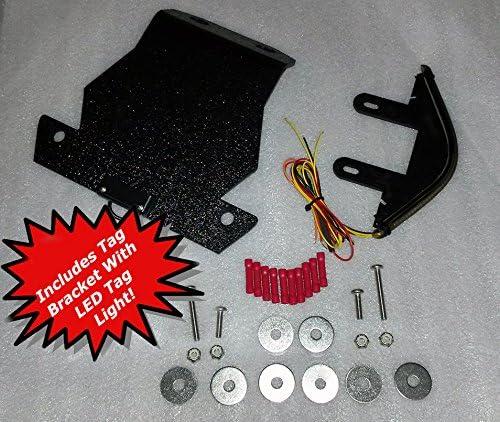 Amazon.com: Kit para luz trasera integrada Kawasaki ZX6 ...