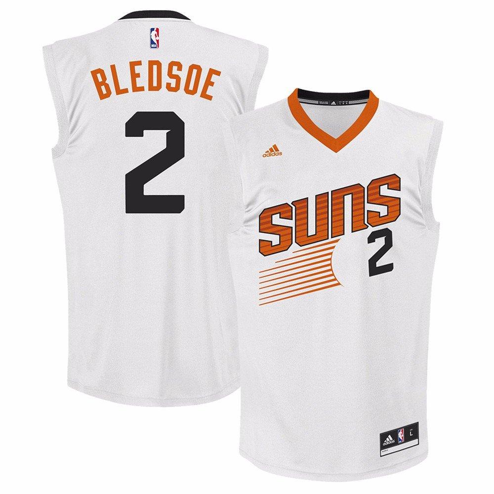 a1e7b6e77e4 Galleon - NBA Men s Phoenix Suns Eric Bledsoe Replica Player Home Jersey