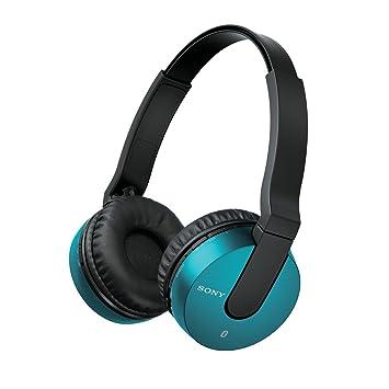 Sony MDR-ZX550BN - Auriculares de diadema cerrados Bluetooth (reducción de ruido, USB, NFC), azul