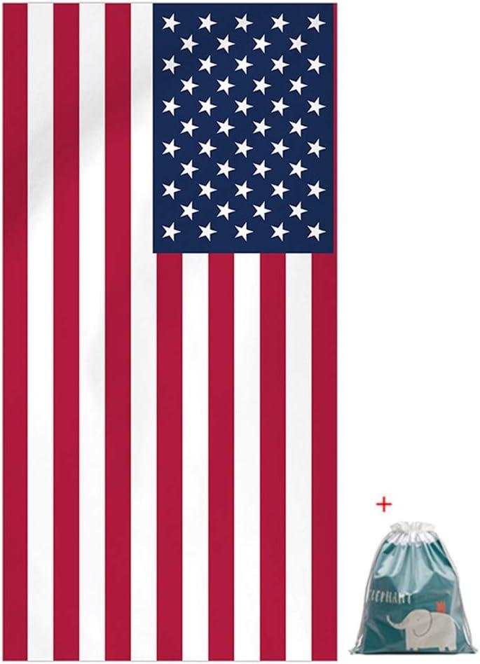 Morbuy Rectangulaire Grande Couverture de Voyage L/ég/ère Pliable Portable pour Natation Sport Gym 75 * 150 cm,Ananas Licorne Serviette de Plage en Microfibre