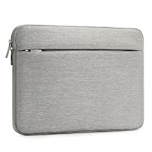 """Laptop Sleeve 13-13.3 Inch ATailorBird Notebook Carrying Case Ultrabook Shockproof Protective Bag Fit 13-13.3"""" MacBook Pro/Air/Acer/Dell/Lenovo/HP/Samsung/-Gray"""
