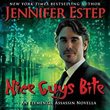 Nice Guys Bite Audiobook by Jennifer Estep Narrated by David Marantz